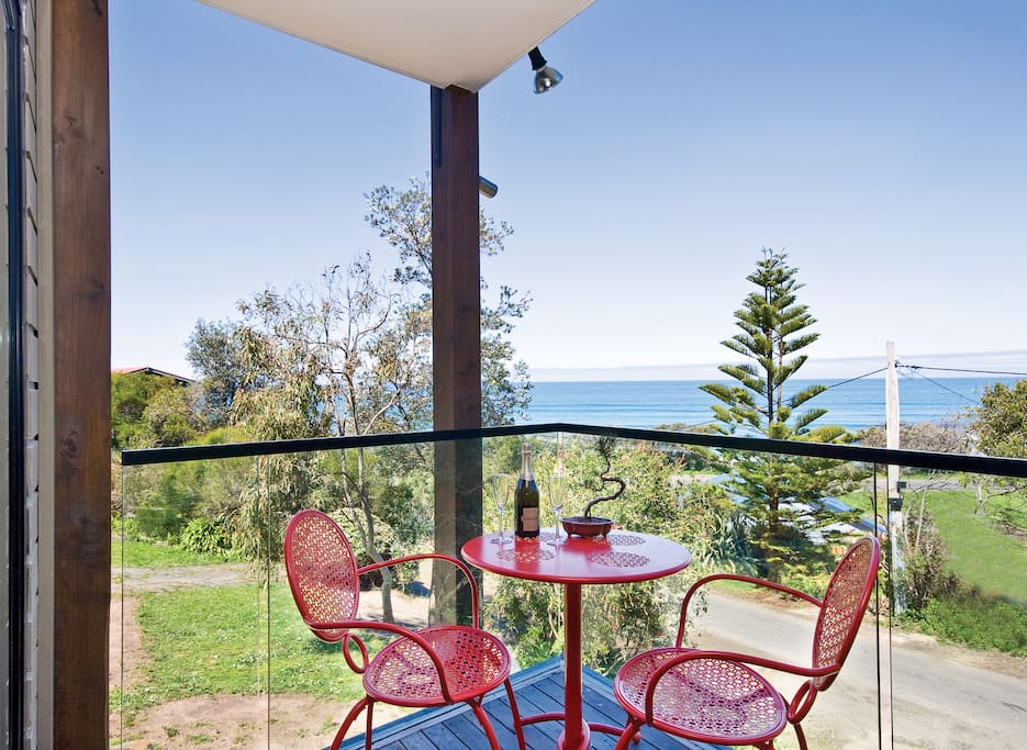 Relax on the balcony, cook a BBQ, enjoy the view, feed the birds.