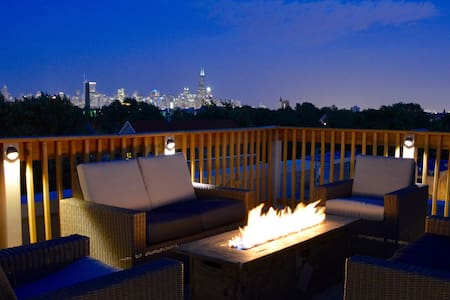 Chicago Penthouse w/ roof deck & skyline views - Chicago - Apartamento