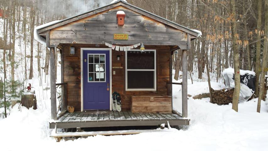 """Harmony""~ Off-the-Grid Solar Cabin"