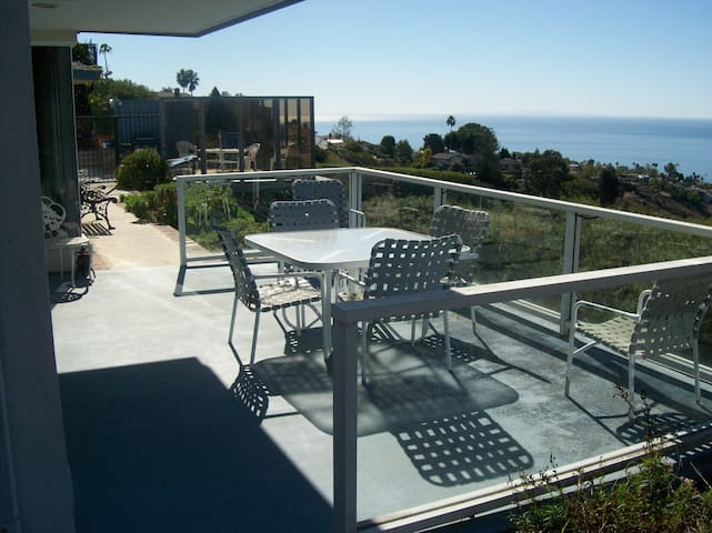 This is the deck off the living room>