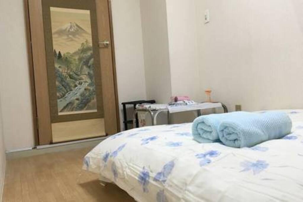 double bed 室內雙人床
