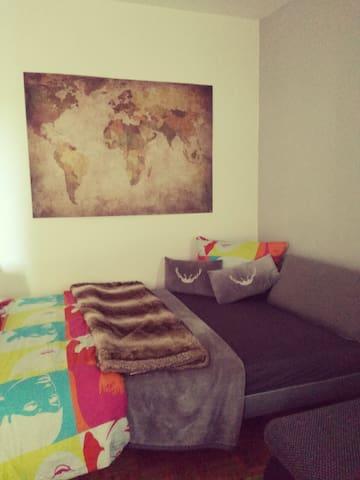 gemütliches Apartment mit Balkon - Münster - Apartemen