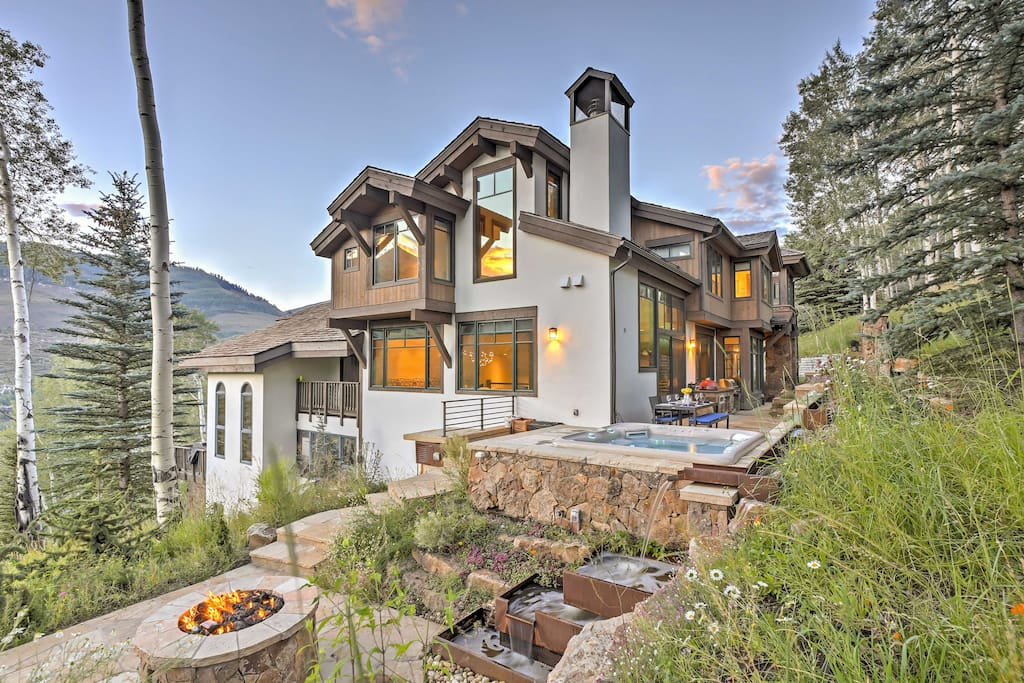 Stunning 6br Vail House With Views And Hot Tub Houses For Rent In Vail Colorado United States