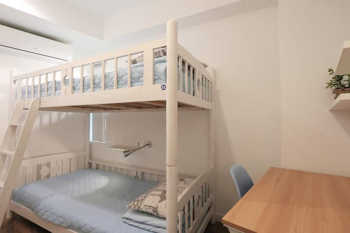 Twin room-5mins from Haeundae Beach