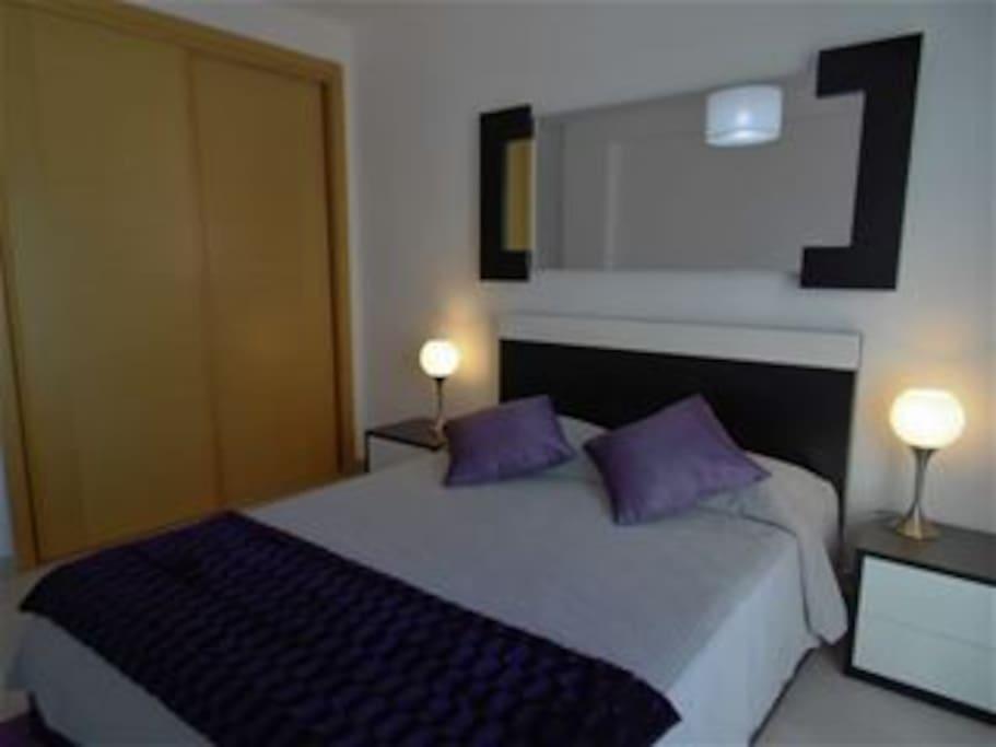 Double lux bedroom A/con