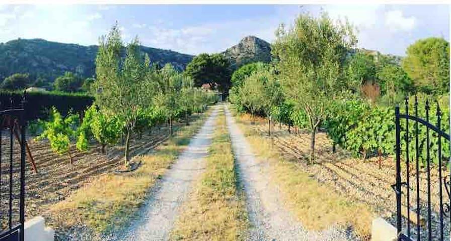Cottage4* tt équipé à12min d'Aix en Provence jacuz
