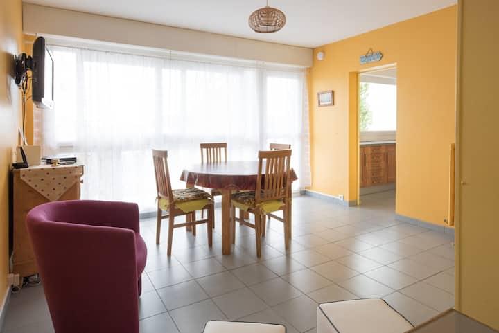 Appartement  très calme 3 étoiles haut de gamme.