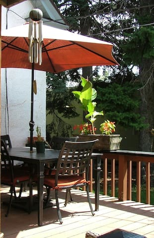 Have coffee on the deck...