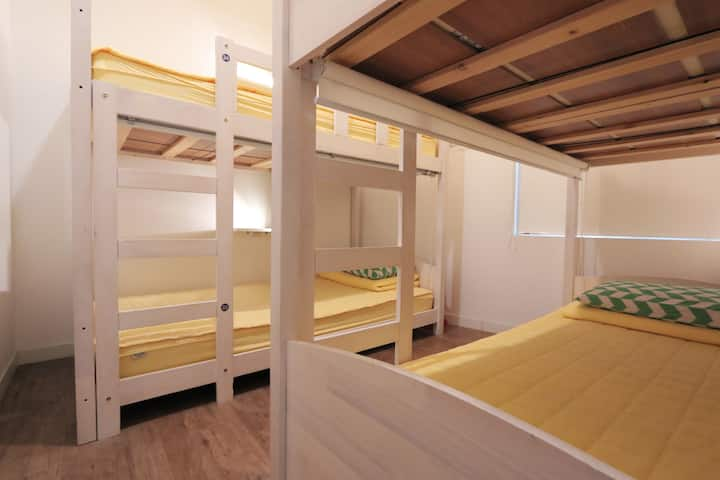 Blueboat Hostel - 4 Dorm for male