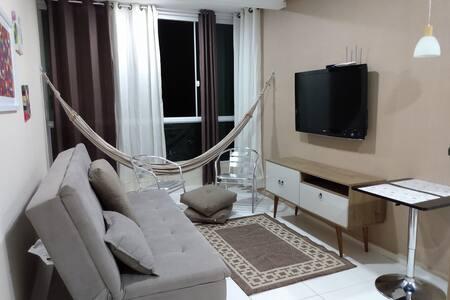Apartamento vista para o mar em Jacumã