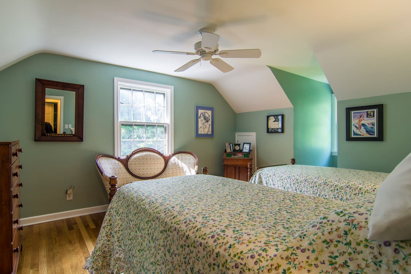 Lovely rural setting less than one mile from the town center of Chagrin Falls.