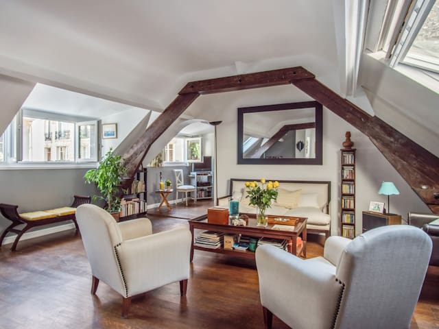 Spacious 1br apartment close to the Eiffel Tower