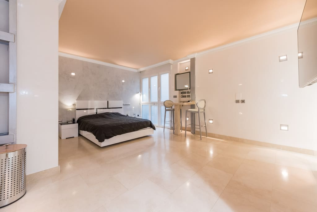 Apartment loft milla oro lofts louer madrid - Les luxueux appartements serrano cero madrid ...