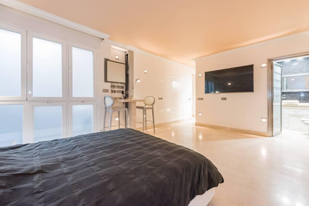apartment loft milla oro lofts louer madrid comunidad de madrid espagne. Black Bedroom Furniture Sets. Home Design Ideas