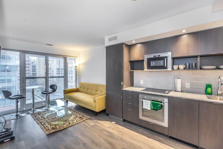 Luxury One Bedroom Condo in a New Building