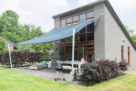 Modern and stylish holiday home on the small holiday park of Schoorl