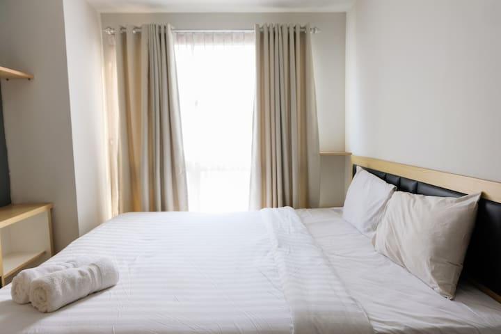 Elegant and Cozy 1BR Scientia Apartment