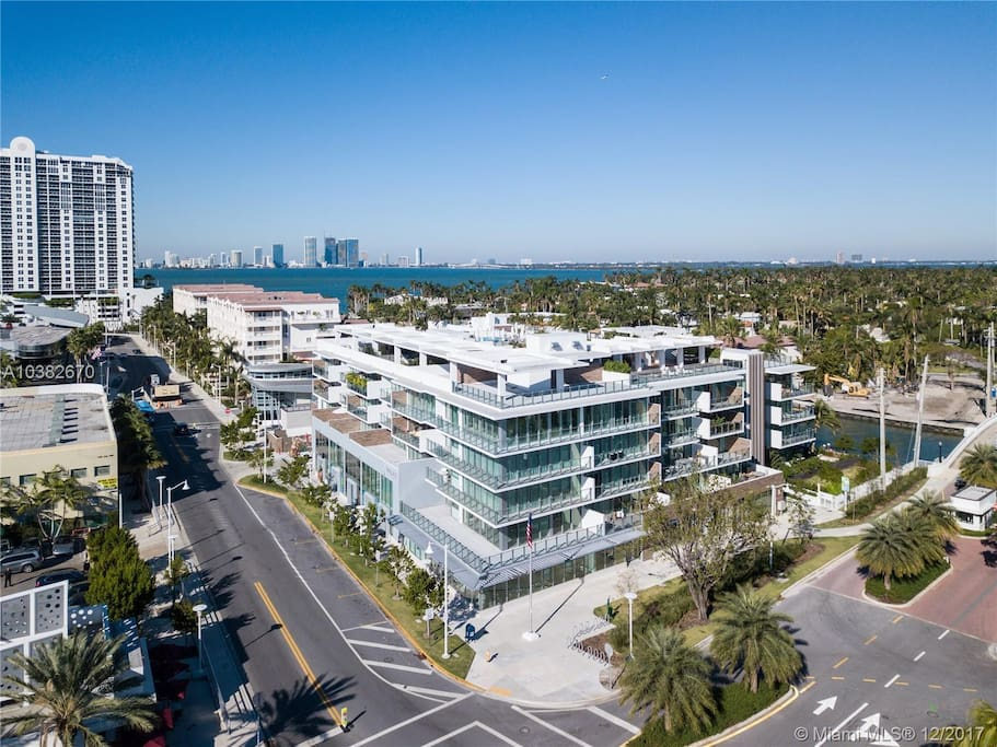 Located in the heart of South Beach, just steps from Sunset Harbor
