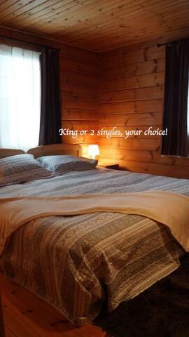 Wander Inn 3BD Cabin |SAUNA| Great Location | rm2