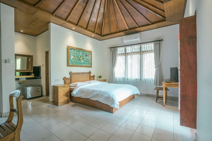 MONTHLY DISC 1BR Private Room near Ubud Center