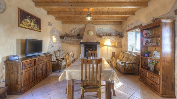 Villa Palentar / Charming country Villa Palentar with a pool