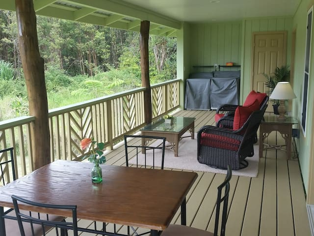 Beautiful Home in Country Setting - Kealohapau'ole - Mountain View - Huis
