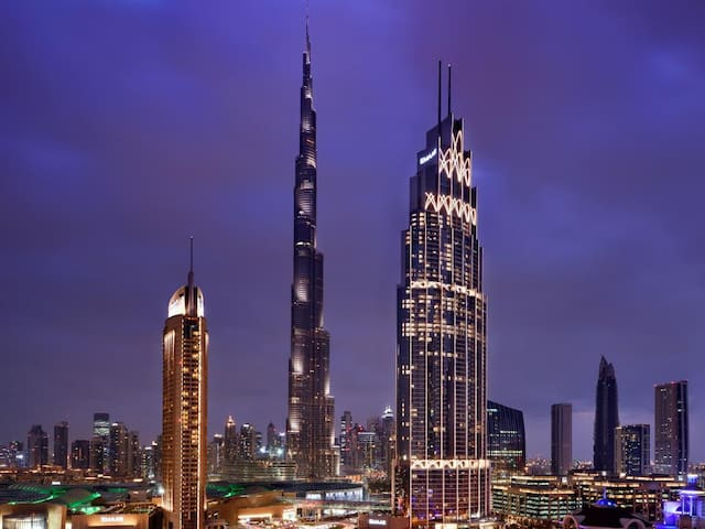 5 Star Serviced Apartment facing the Burj Khalifa