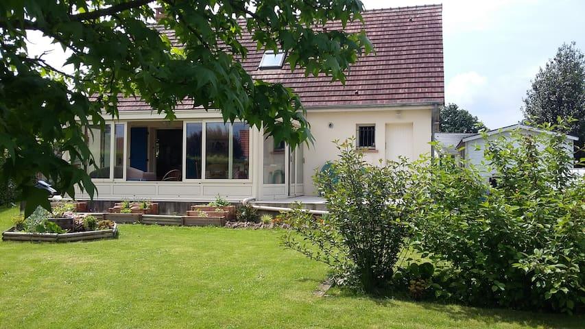 Ville & jardin 1 Chambre double petit-déj.