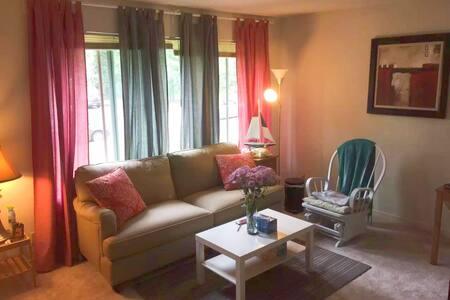 Queen bedroom in townhouse near Emory & CDC - Decatur - Leilighet