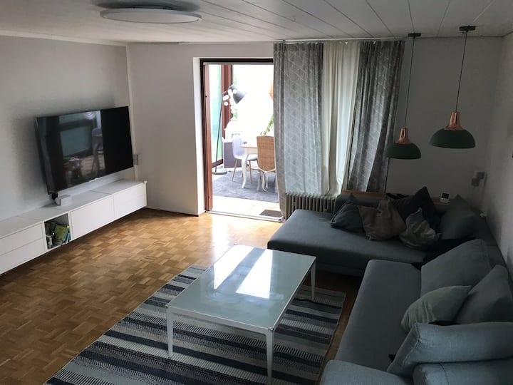 Ladenburg 4 Zimmer Wohnung mit Garten für Familien