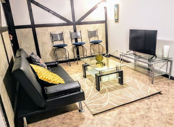 Cozy 1 bdrm apartment in Toronto + Parking & WIFI