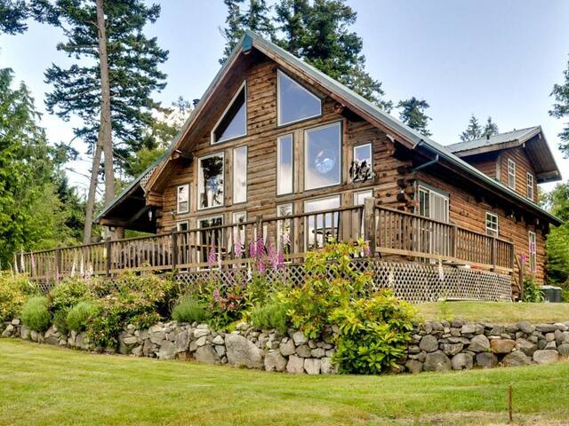 Log Home on Lopez-Spencer Spit - Lopez Island - Altro