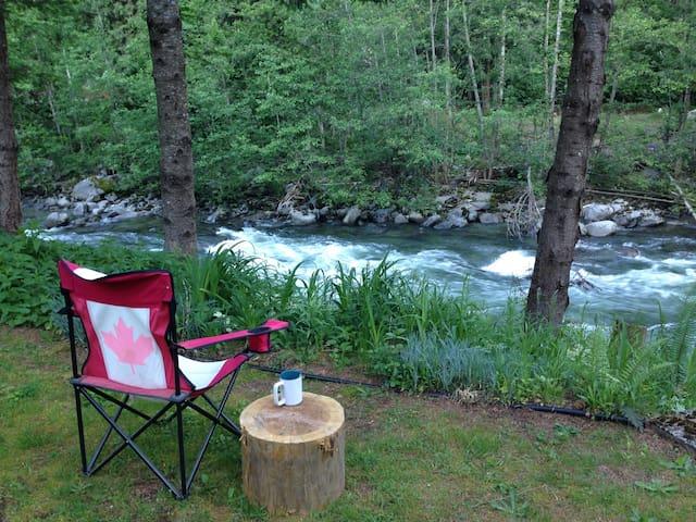 Relaxing, Rejuvenating, Silver Creek's Retreat.