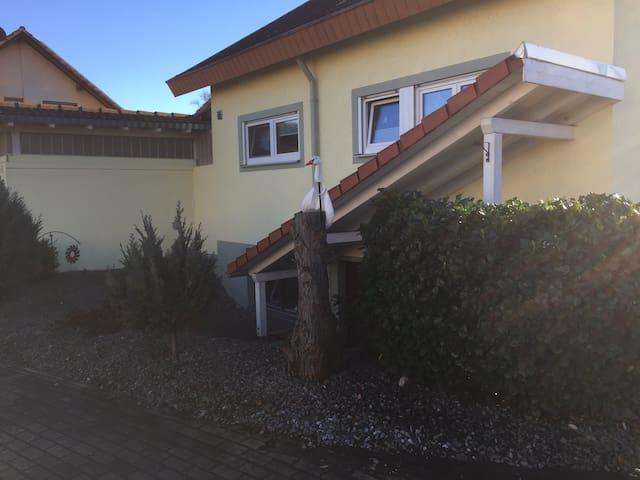 Schöne, ruhige Wohnung am Ortsrand von Bahlingen - Bahlingen am Kaiserstuhl - Apartment