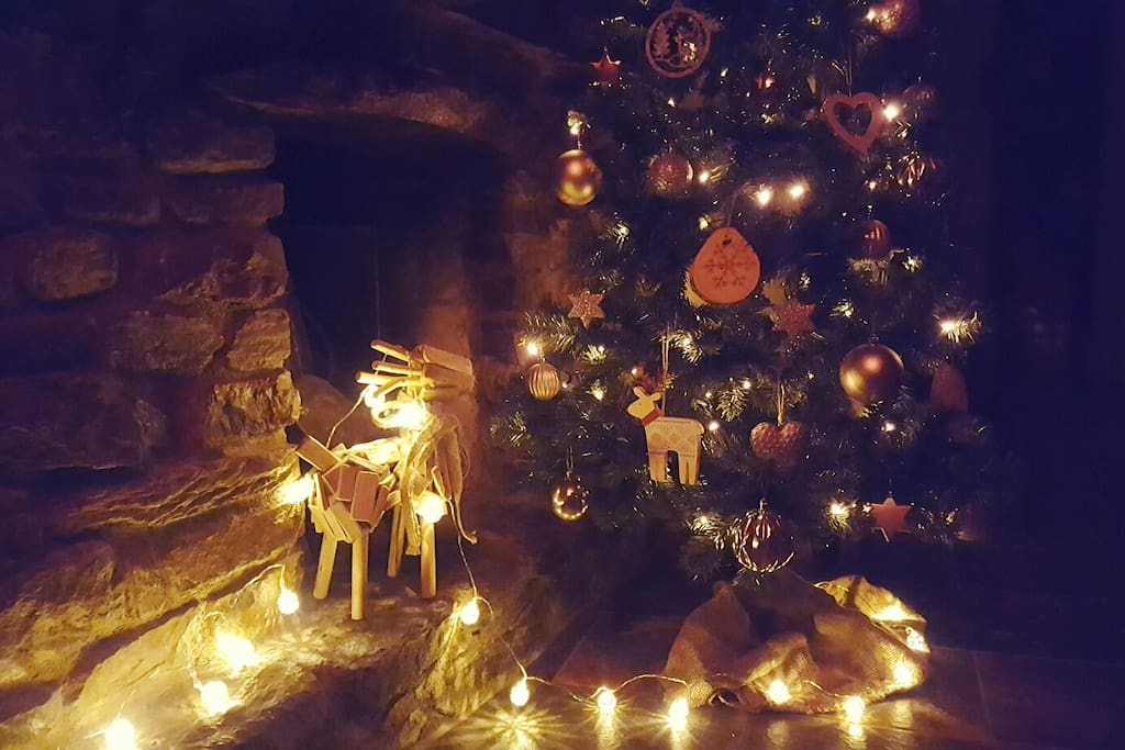 Come for a cosy, alpine Christmas!