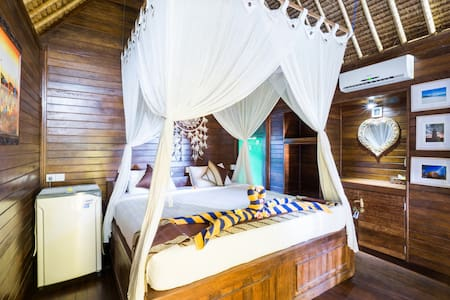 Bungalow for escape at Cengingan Island - Bungalow