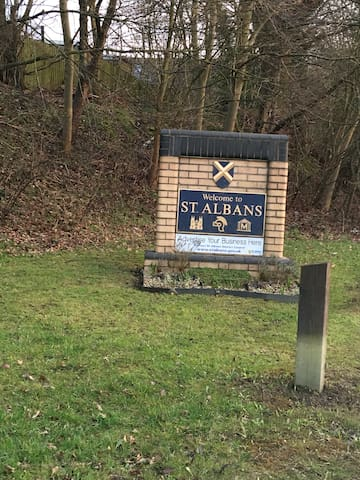 Image result for welcome to st albans sign