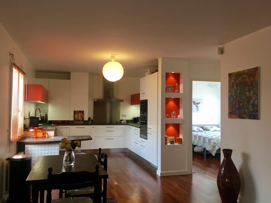 Cuisine et chambre