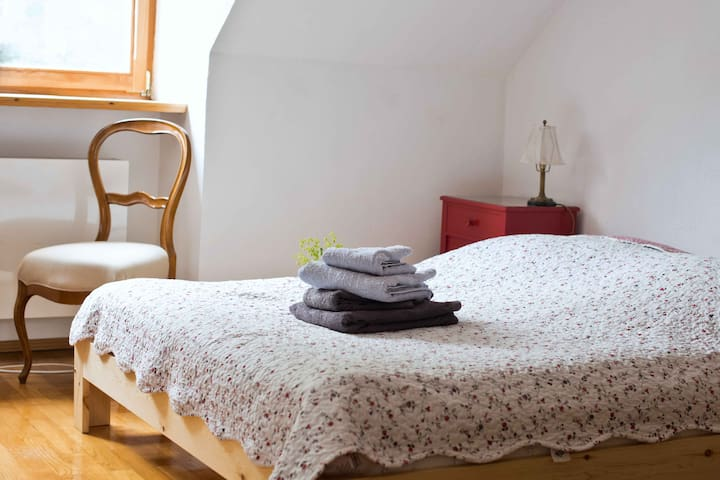 Attic apartment near subway - Munich - House