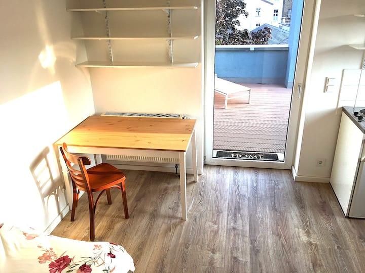 Apartment in absoluter Top Lage mit neuem Bett
