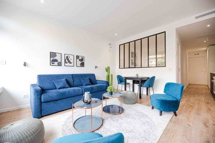Luxury apartment in Paris South - Near Metro 3 +