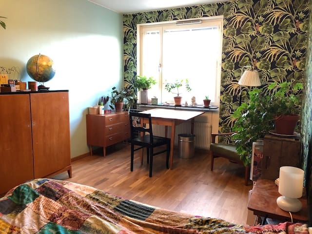 Cozy spacious room in  Hornstull