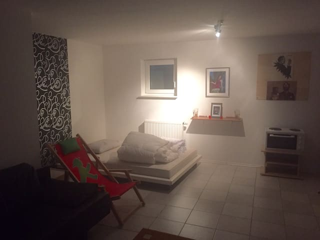 Great big studion close to Basel and Fair of Basel - Grenzach-Wyhlen - Ház