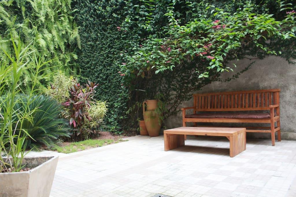 Courtyard / Jardín