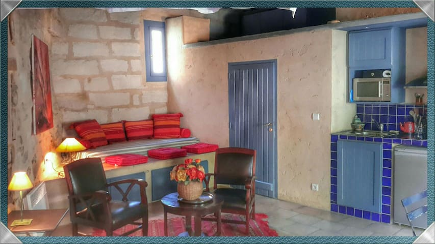 Joli Studio et sa terrasse à Uzès - Uzès - Wohnung