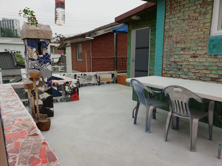 어니 g-하우스/한옥마을 인근 (2층 독채)
