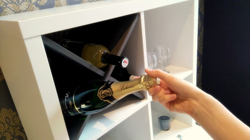 Champagne available