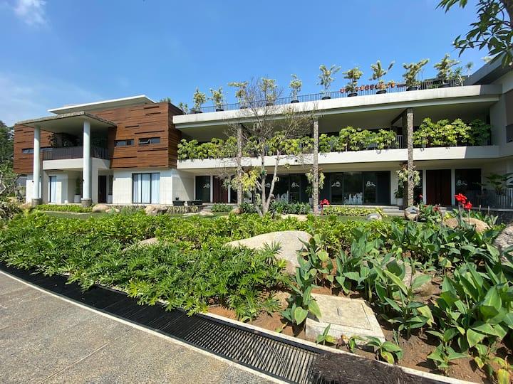 Teras Bhumi Modern Villa - Bluebell Room