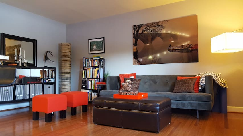 Urban Condo in Arlington, VA steps from DC - Arlington - Wohnung