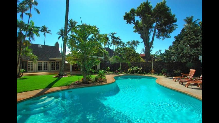 The Gingerbread House Kahala 1 Booking/30 days